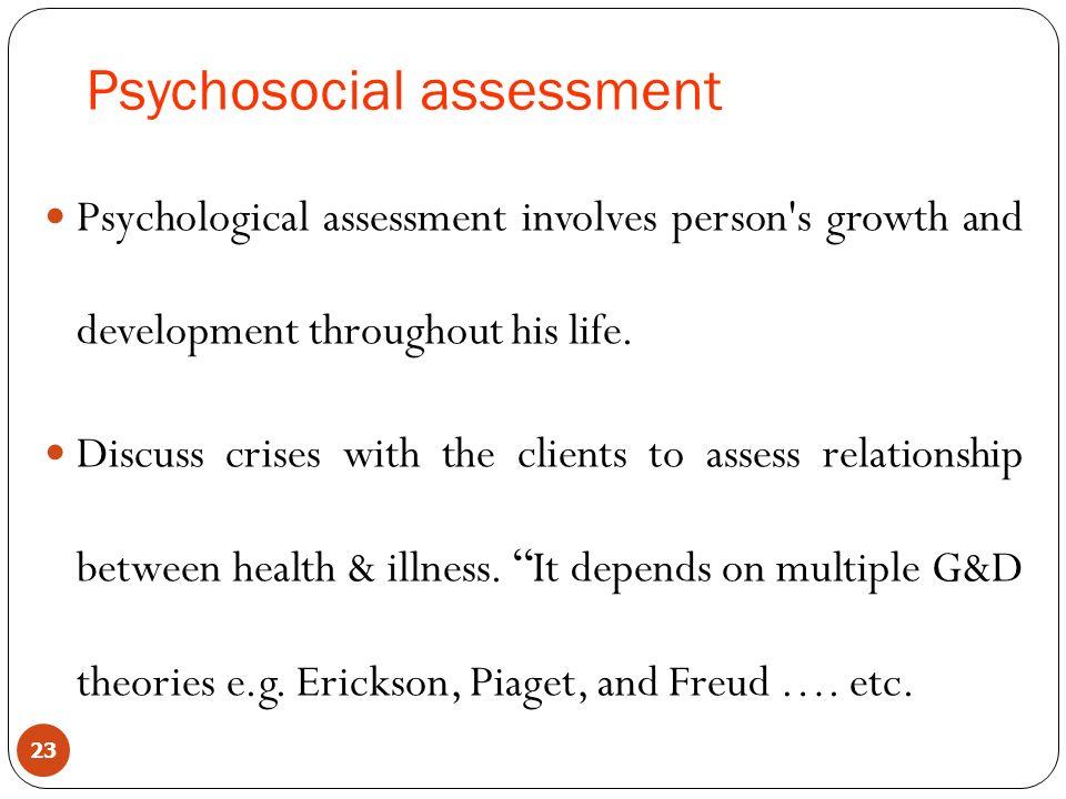 Nursing Health Assessment - ppt download - psychosocial assessment