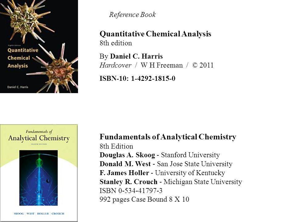 Quantitative Chemical Analysis Quantitative Chemical Analysis R C