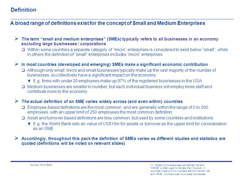 Business Agenda Small Medium Enterprises The Benefits Of