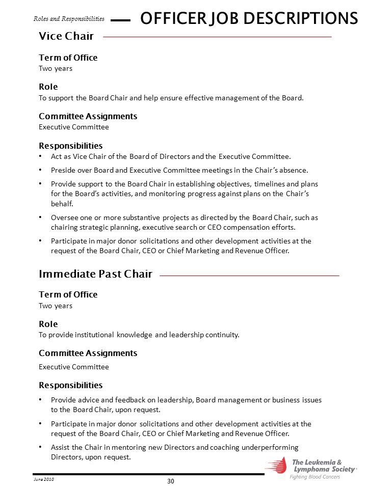 job description for ceo