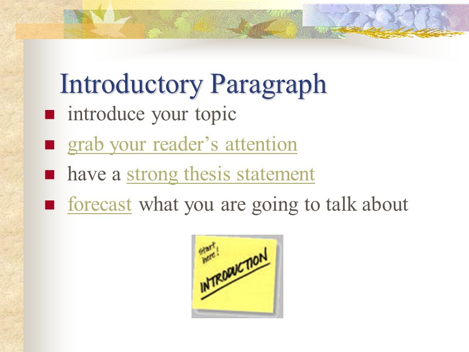 Revisiting the 5-Paragraph Essay - ppt download - essay introductory paragraph