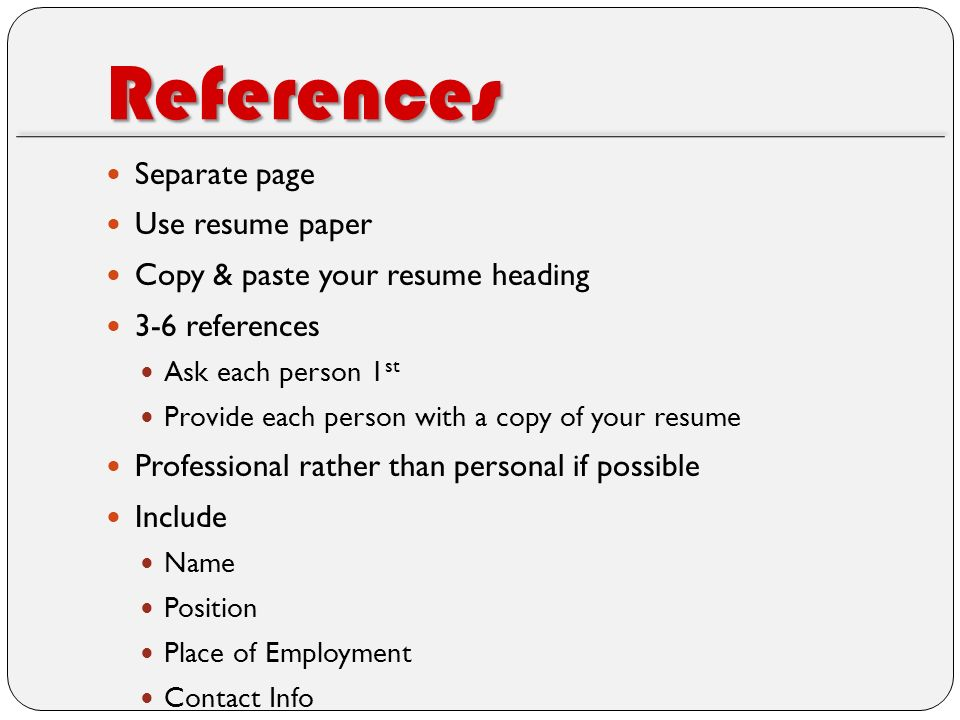 Spice Up Your Resume Served by D R I V E T H R U - ppt video online