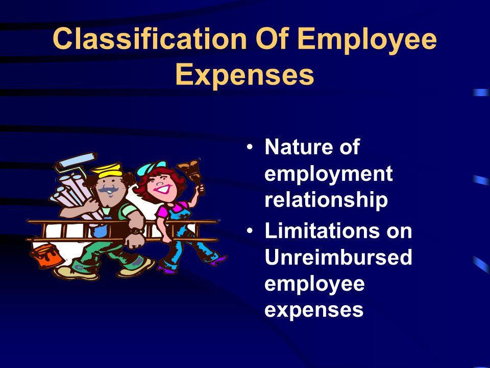 Unreimbursed Employee Expense cvfreepro