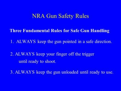 NRA Range Safety Officer Course - ppt video online download