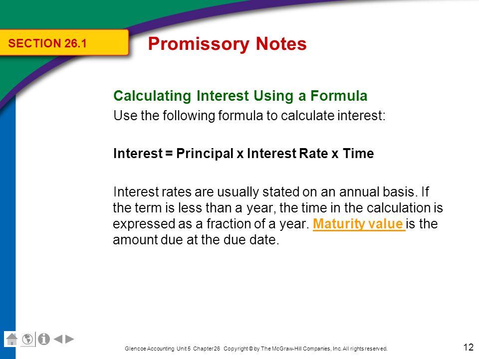 promissory note interest calculator - Ozilalmanoof - promissory notes