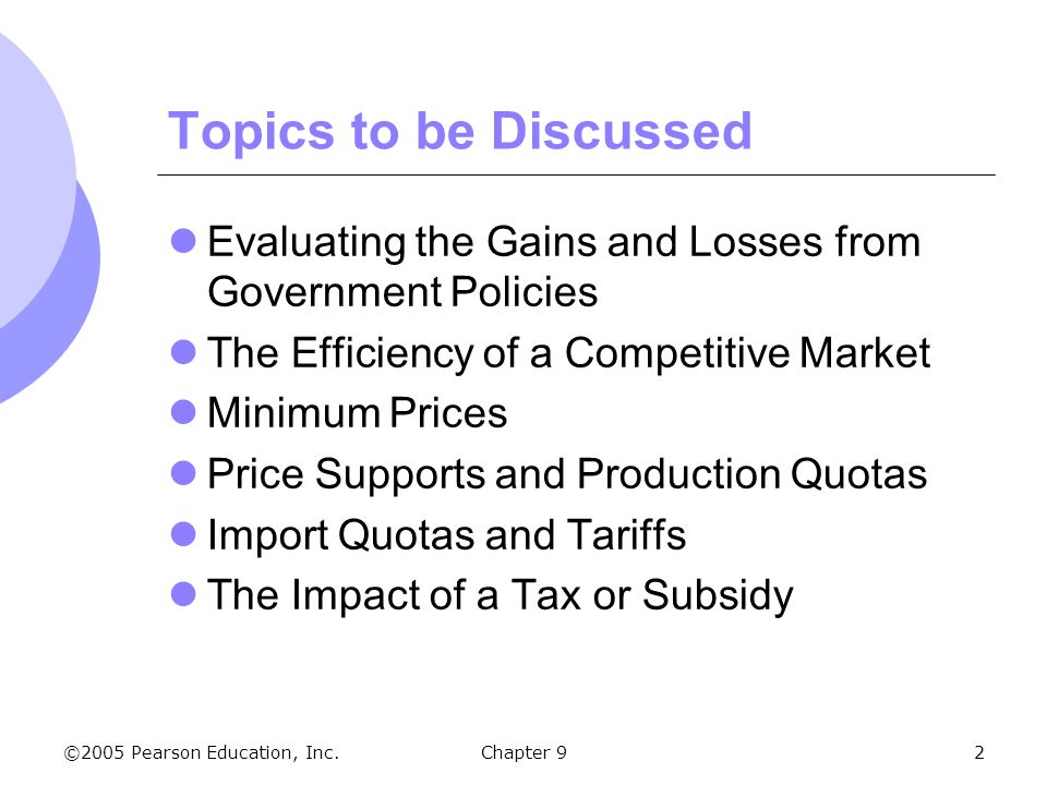 The Analysis of Competitive Markets - ppt download - competitive market analysis