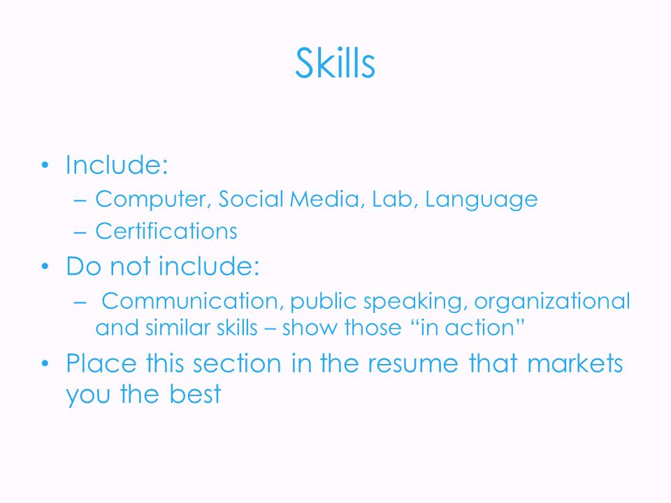 Not To Include In Resume Curriculum Vitae Is Known As Cv Or Resume