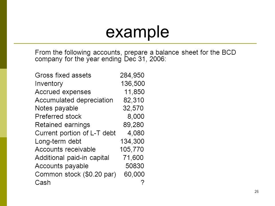 Prepare Balance Sheet | colbro.co