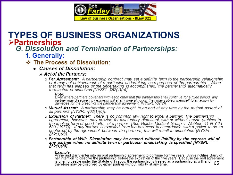 business partner contract – Business Dissolution Agreement