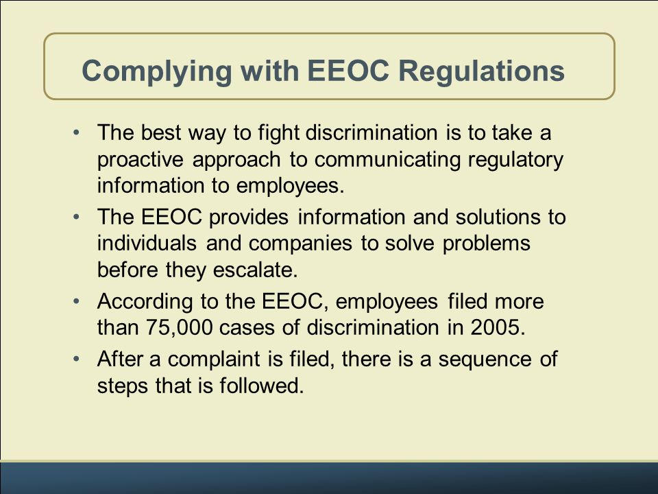 Eeoc Complaint Form This Is A Flowchart Of The Federal Eeo - financial ombudsman complaint form