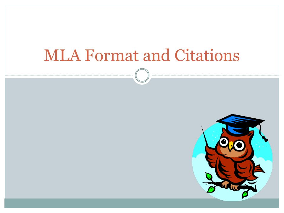 MLA Format and Citations - ppt video online download - Mla Format For Citations