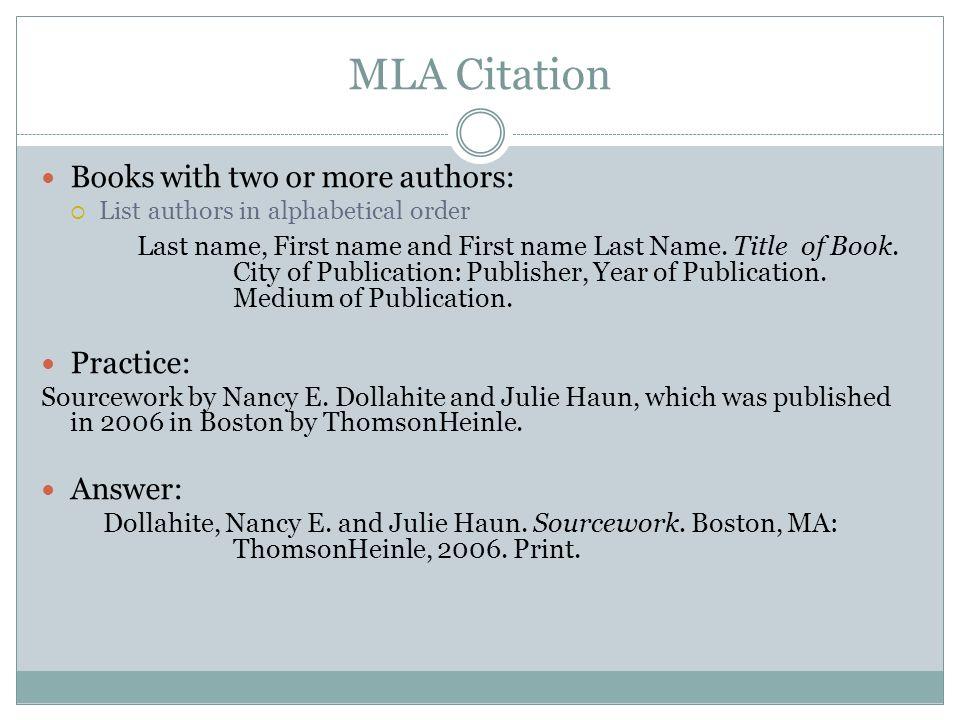 Mla citations books College paper Academic Writing Service
