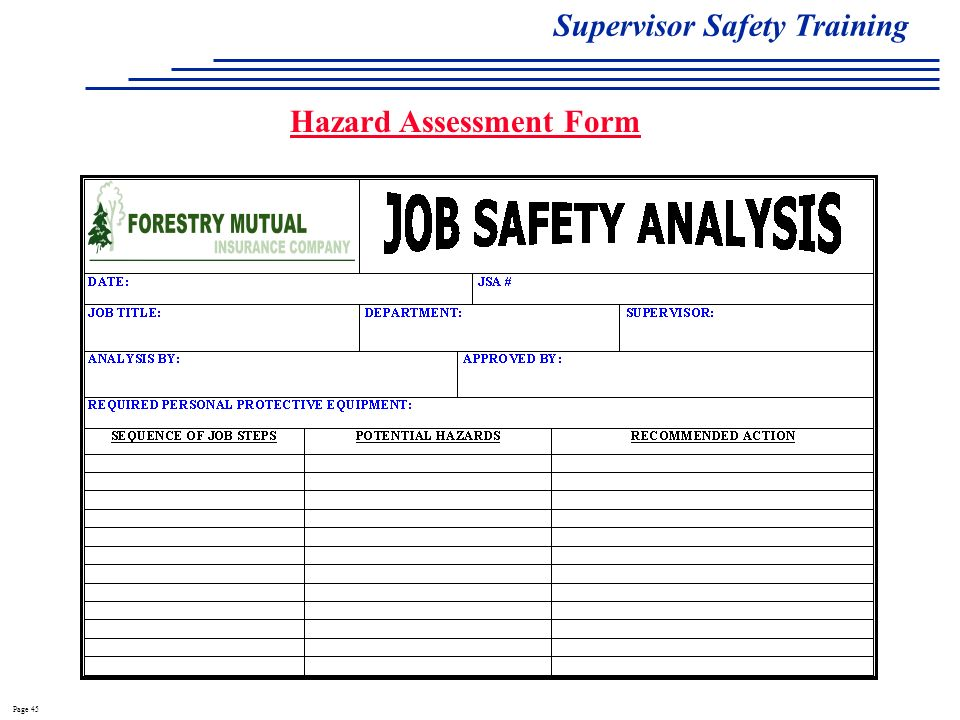 Perfect hazard assessment template image collection example resume job hazard assessment template image collections template design ideas maxwellsz