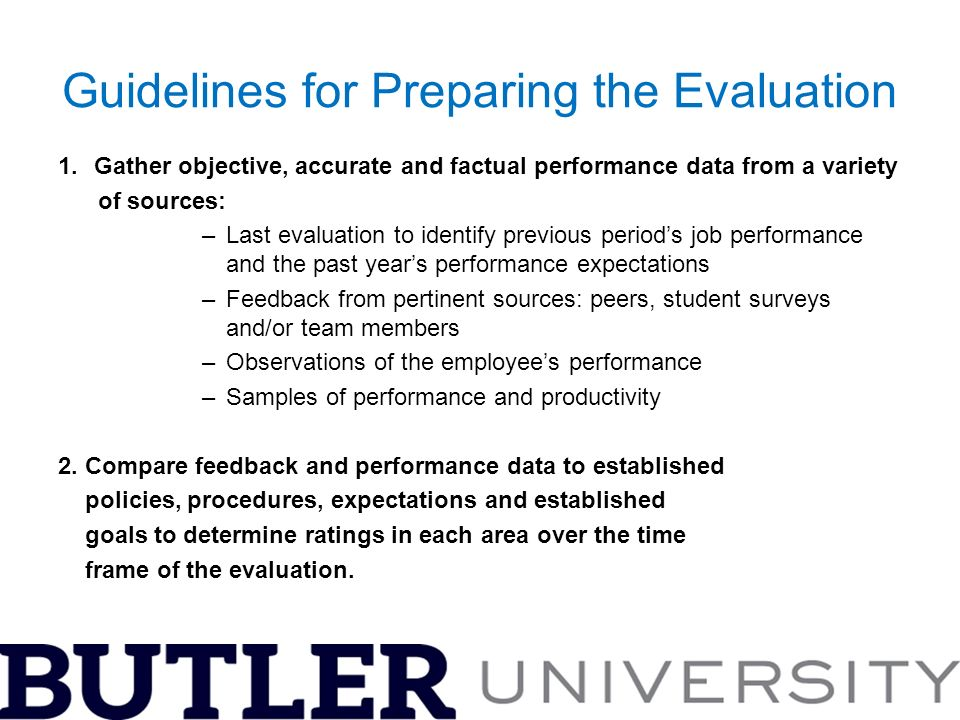 A Guide to Conducting Effective Performance Evaluations - ppt video