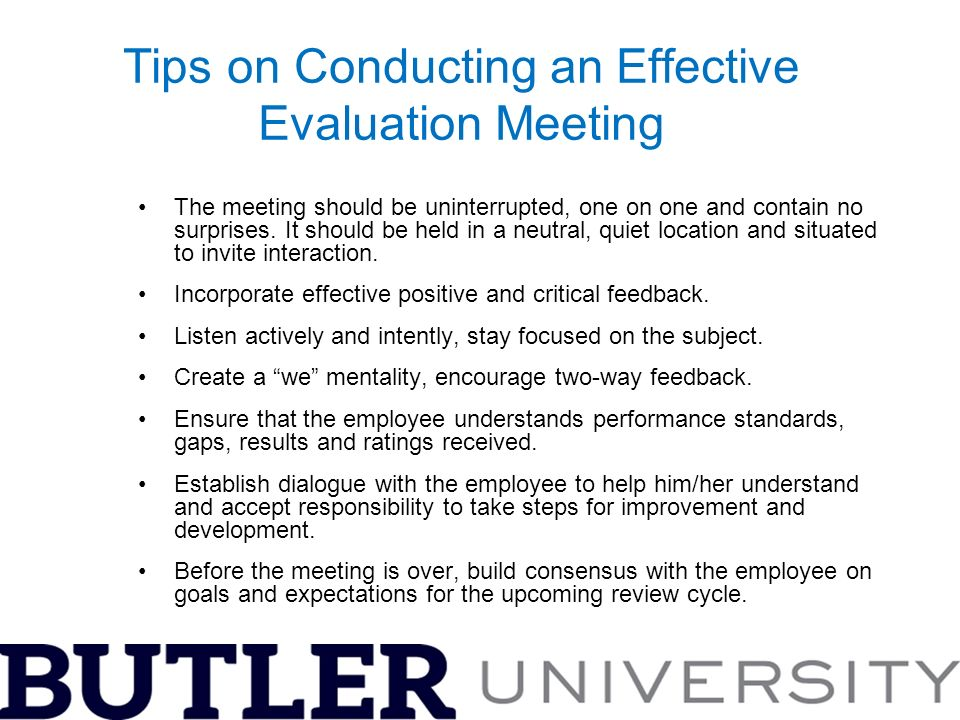 A Guide to Conducting Effective Performance Evaluations - ppt video - Effective Employee Evaluation Steps