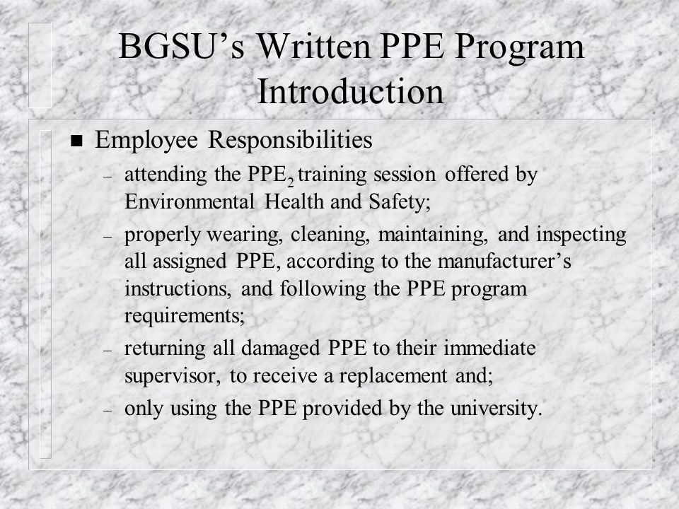 electrical workplace safety written program