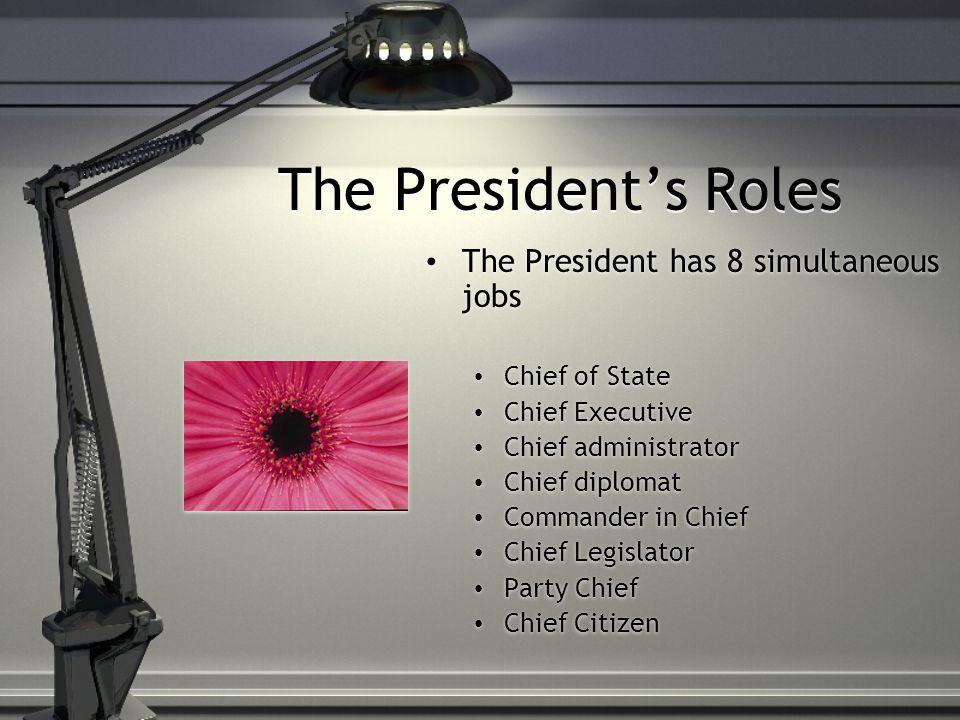 The President\u0027s Job Description - ppt download