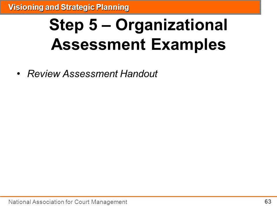 National Association For Court Management - ppt download - organizational assessment template
