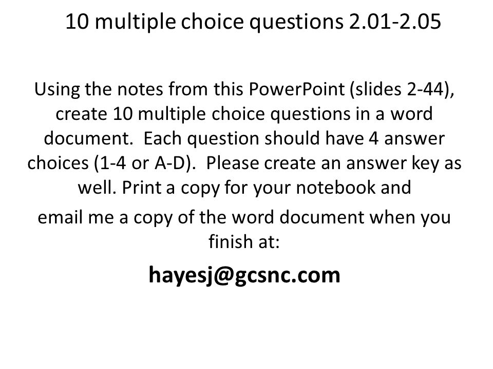 100 Notes and Practice Questions - ppt video online download