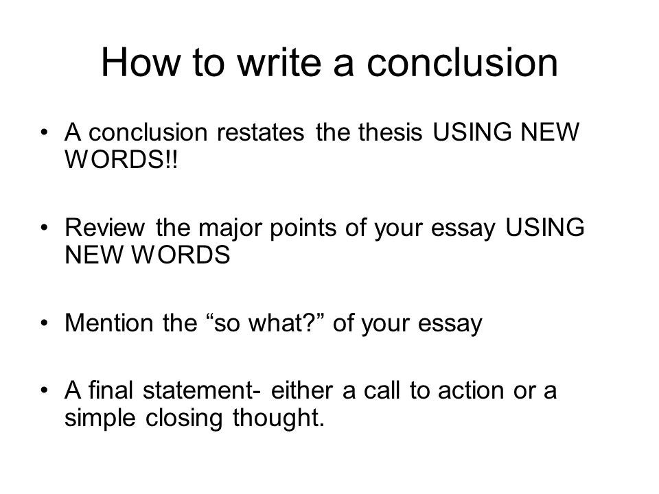 closing words for essays - Kubrakubkireklamowe