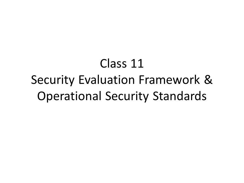Information Security Framework  Standards - ppt video online download