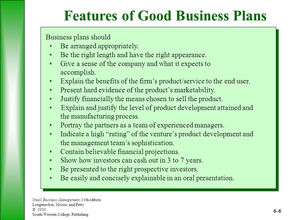 The Role of the Business Plan - ppt video online download - business plans