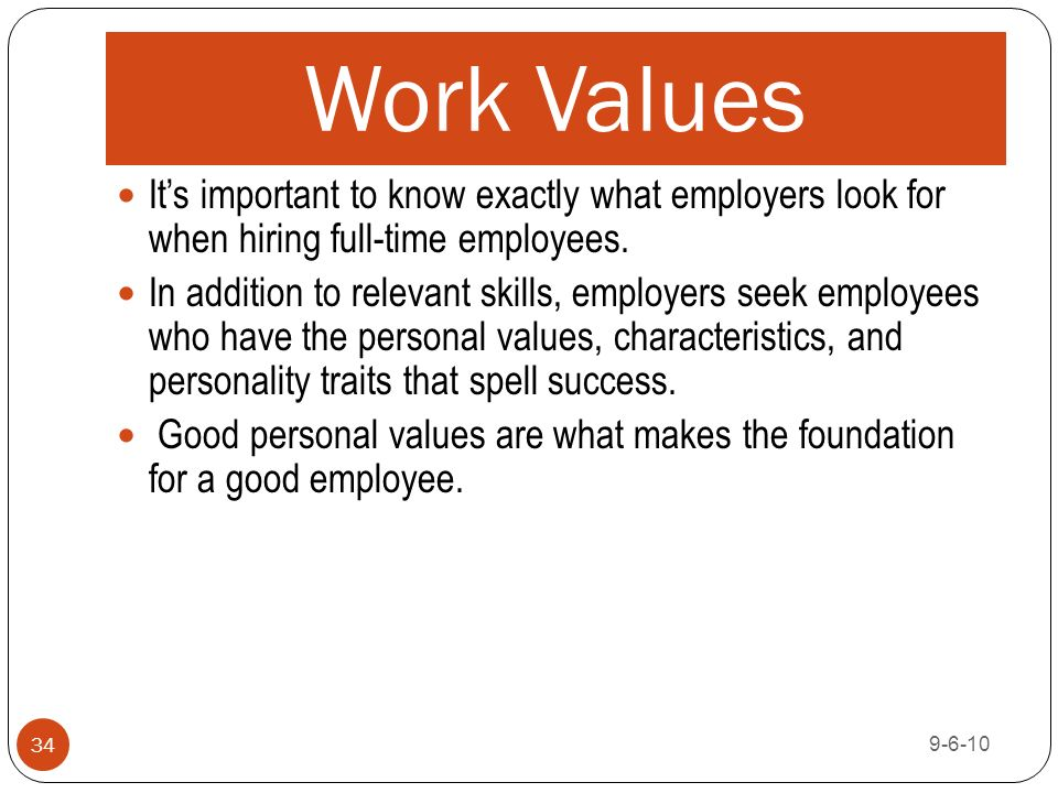 6415 Career Management Unit A ppt download - what skills and qualities do employers look for
