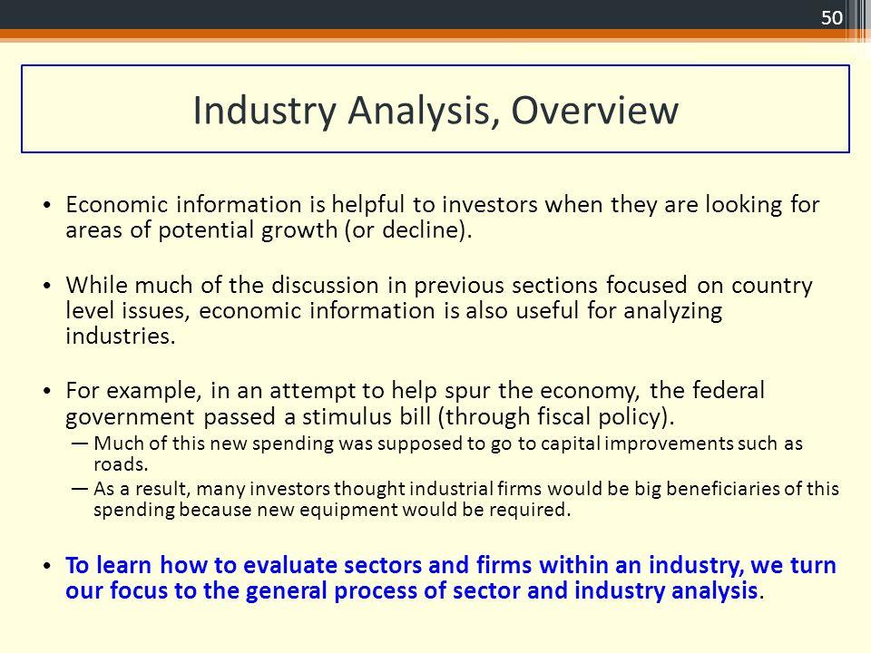 Industry Analysis Example - Fiveoutsiders - industry analysis example