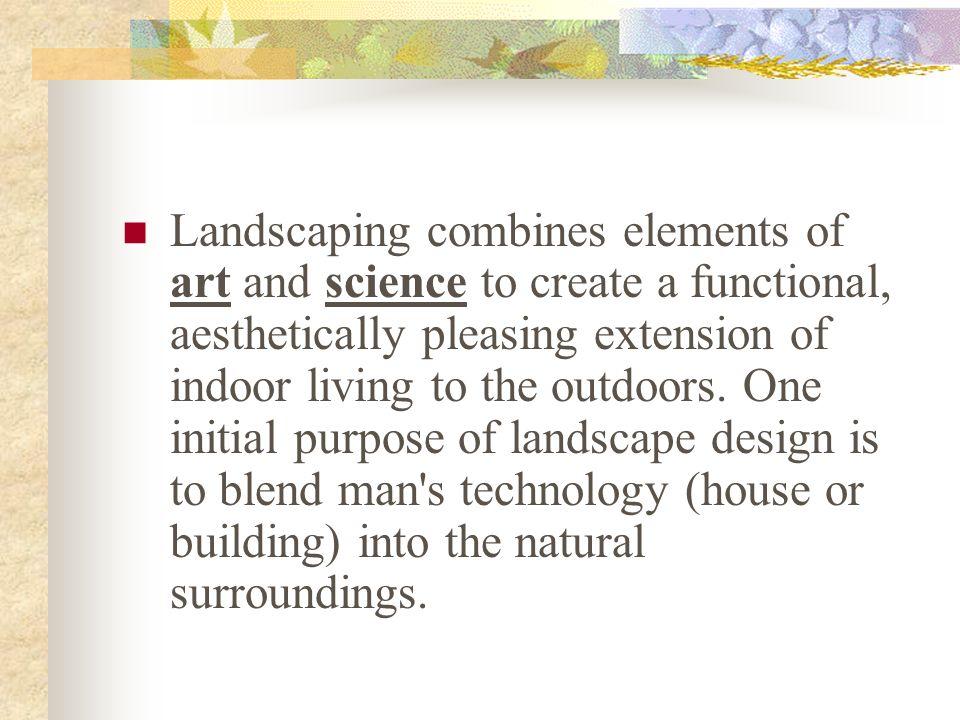 Basic Principles of Landscape Design - ppt download