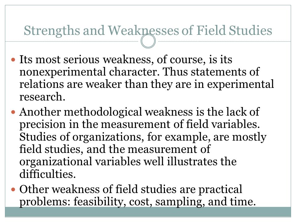 Strengths and weakness of quantitative research College paper