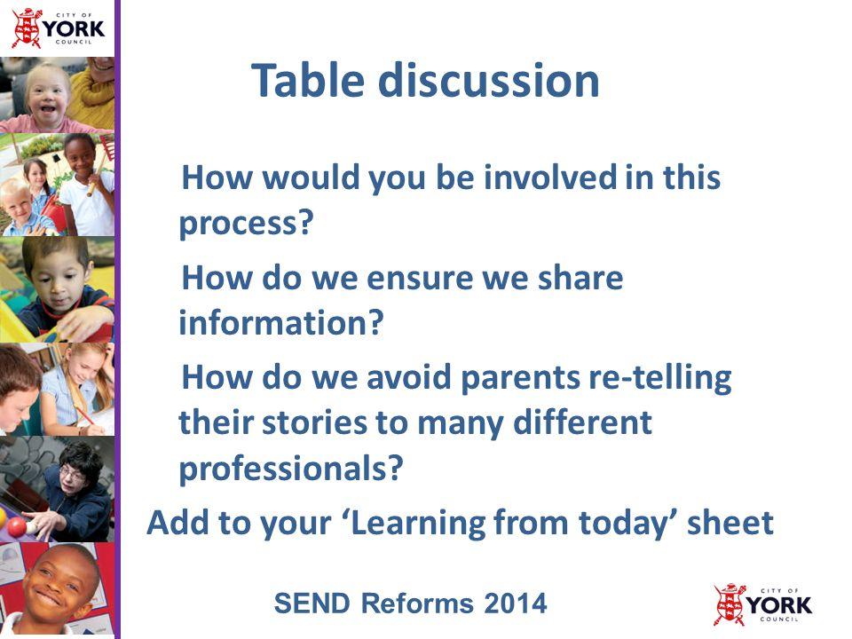 Strategies To Address Challenging Behaviour In Young Briefing On Send Reforms Ppt Download