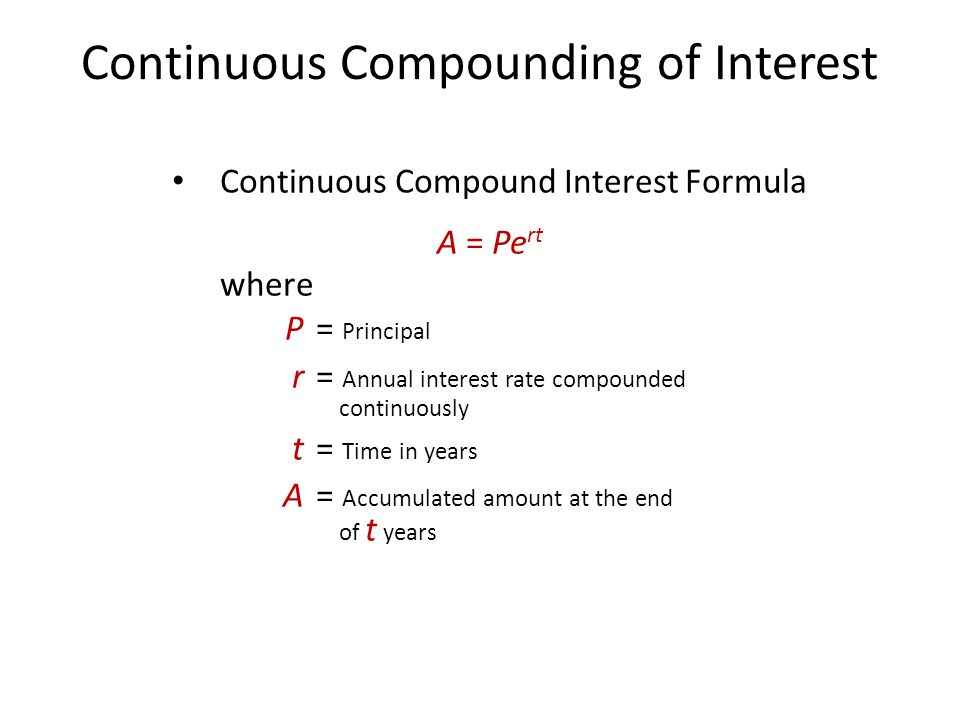 4 Mathematics of Finance Compound Interest Annuities - ppt video - annual interest rate formula