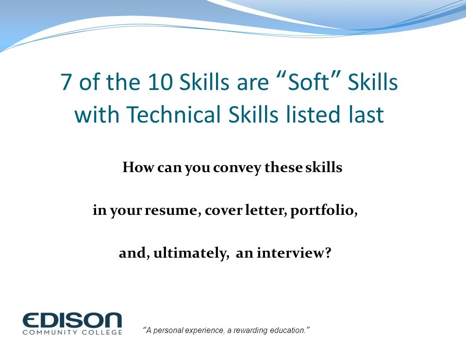 Building a High-Impact Resume - ppt download - skills listed on resume