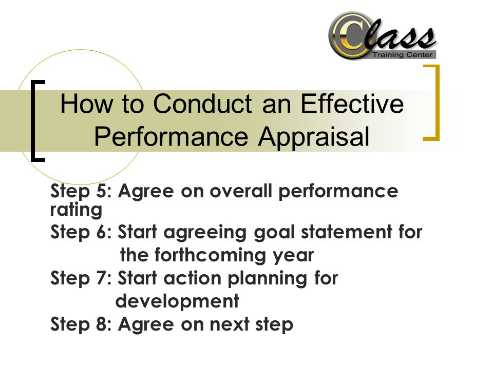 Effective Employee Evaluation Steps 10 steps to effective - effective employee evaluation steps