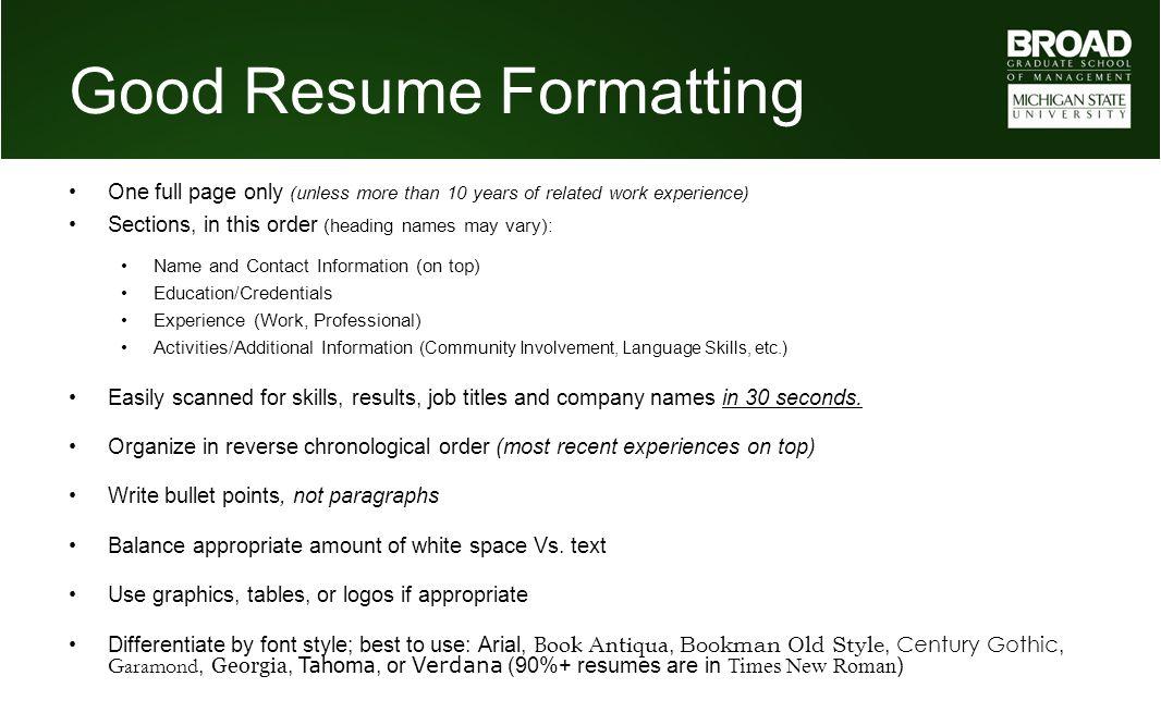 names for resumes - Jcmanagement.co
