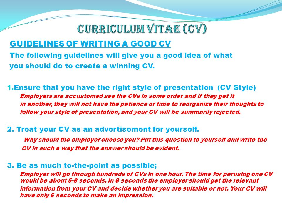 order investments curriculum vitae resume formatting guidelines
