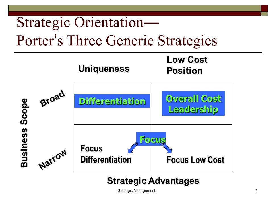 Porter\u0027s Three Generic Strategies kicksneakers - porter's three generic strategies