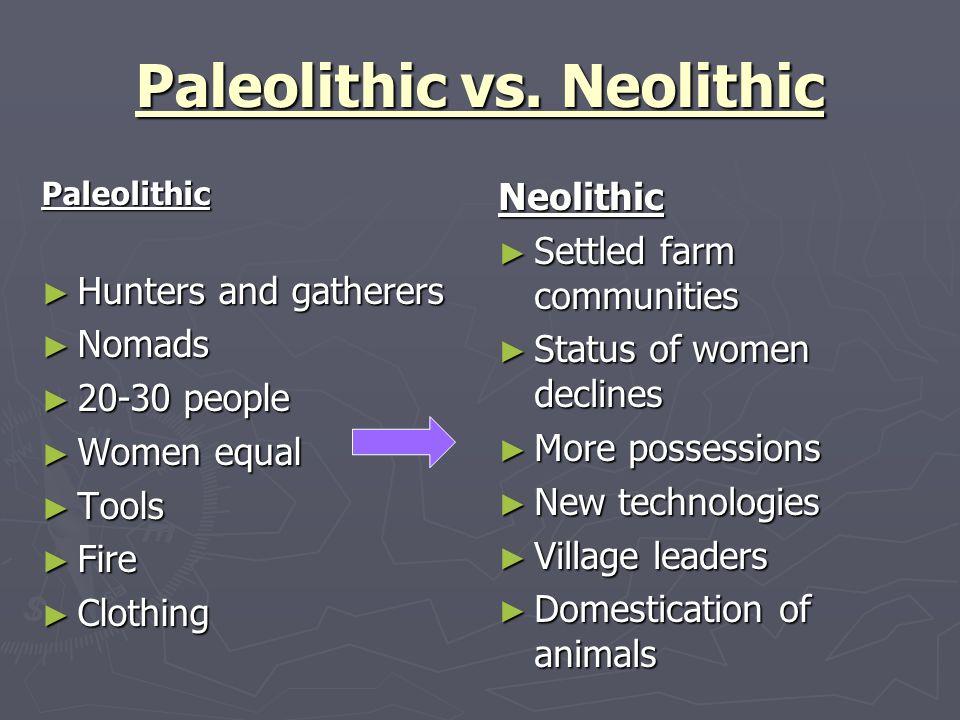 paleolithic vs neolithic venn diagram - Vatozatozdevelopment