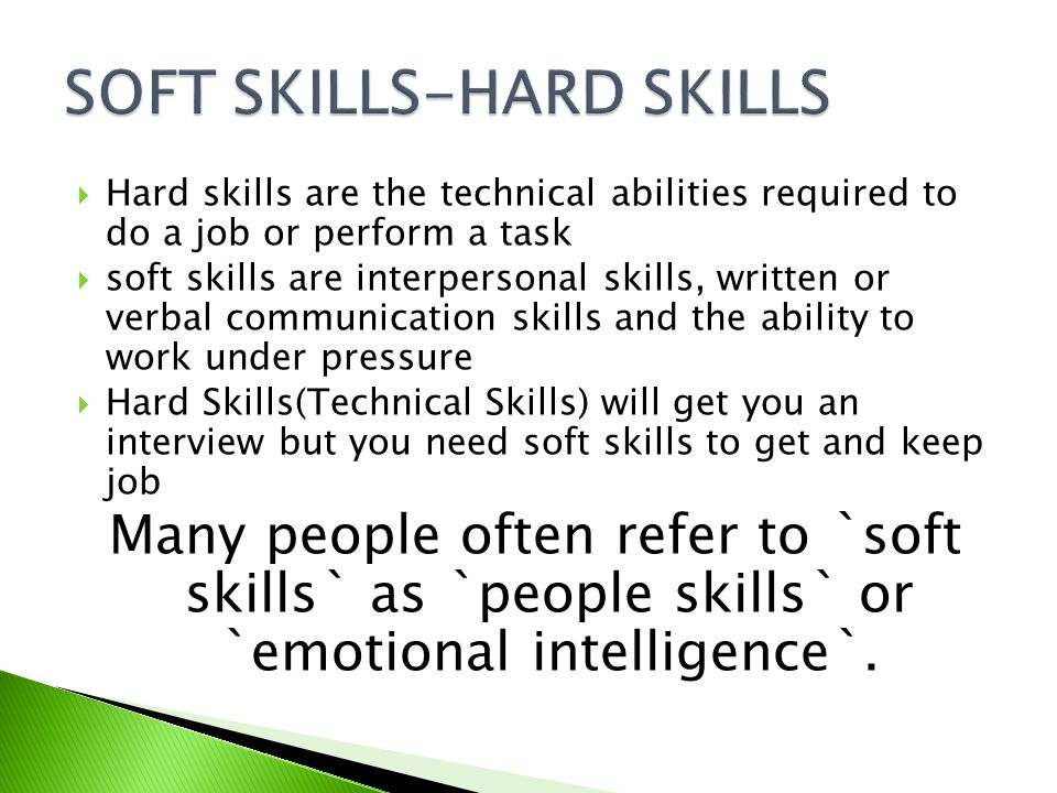 SOFT SKILLS CRAGHAVA RAO - ppt download - what are soft skills