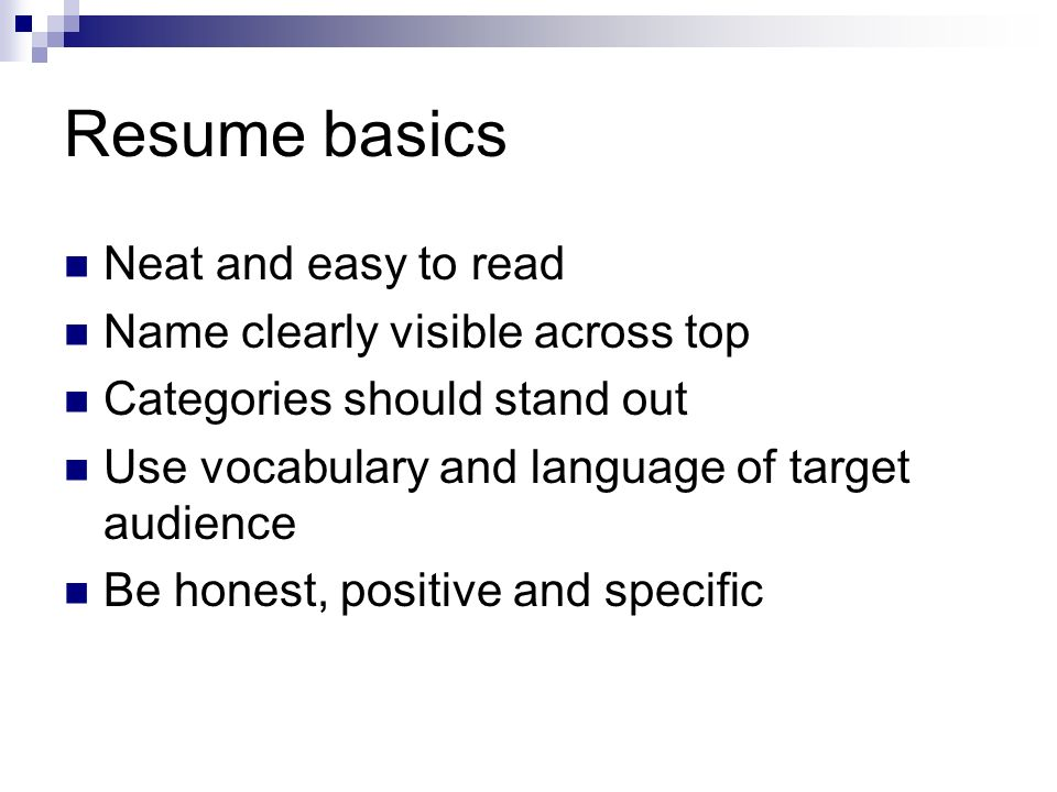 how to write a resume ppt video online download resume basics