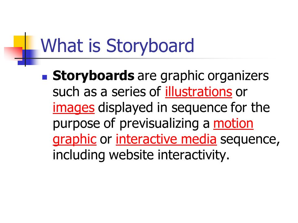 Overview of system design - ppt download - what is storyboard