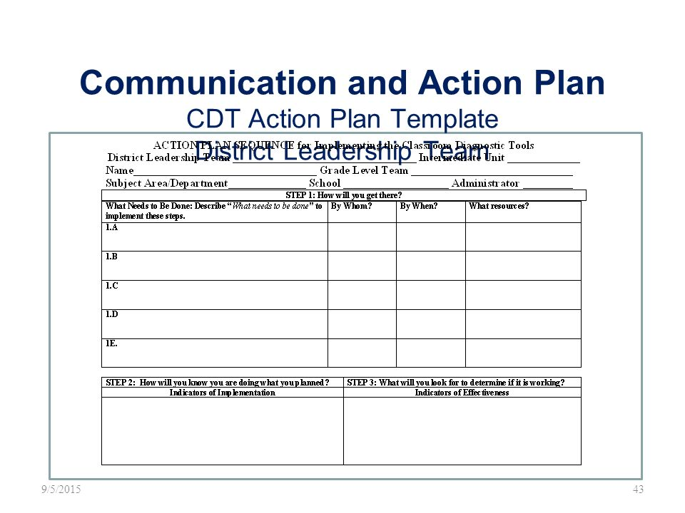 Leadership Action Plan Template ri social media action plan - school action plan template