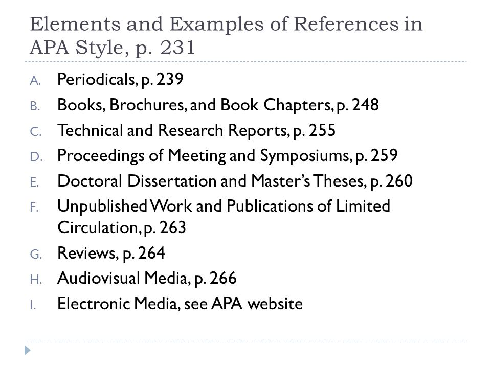 Apa Referencing Unpublished Doctoral Dissertation