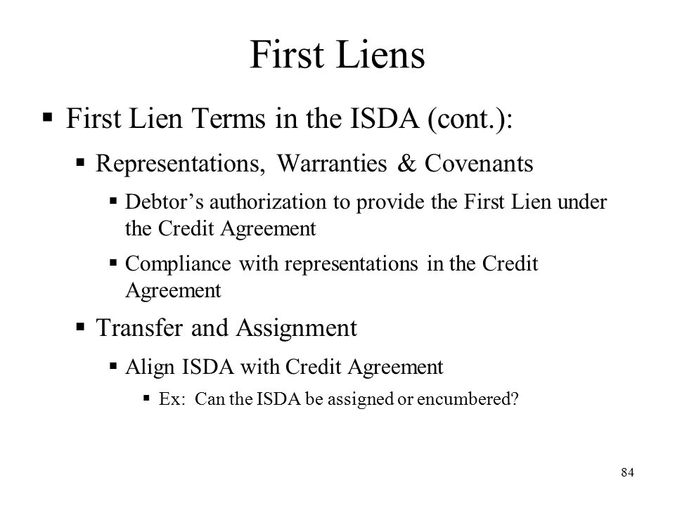 ISDA Credit Protections Tools to Mitigate Your Companyu0027s Risks - credit agreement