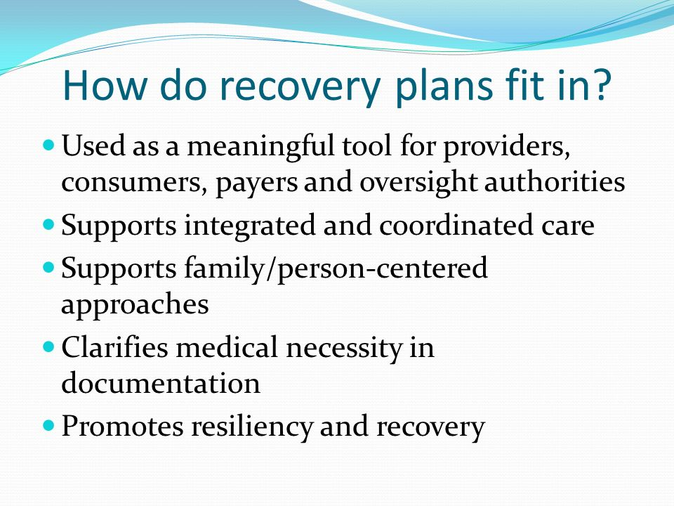 recovery plans templatexampleunicloudpl - recovery plans