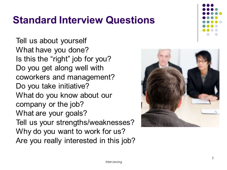 Preparing for Interviews - ppt video online download