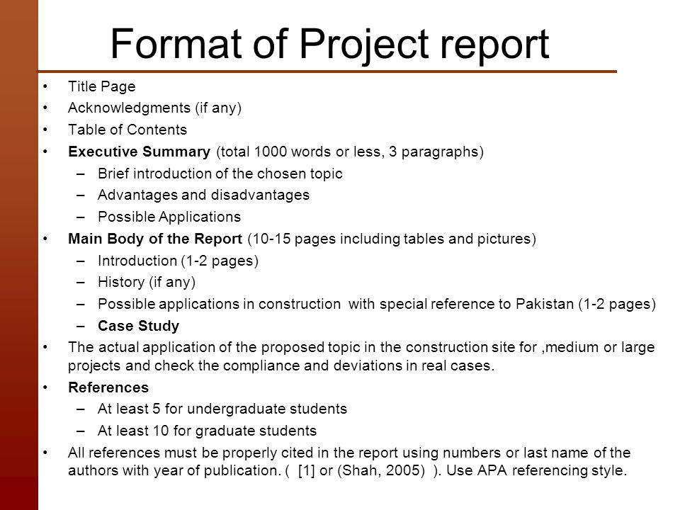 Construction Industry of Pakistan Challenges and Opportunities - executive summary format for project report