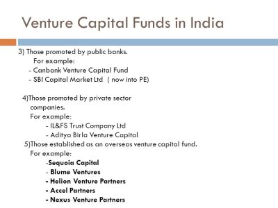 ROLE OF CHARTERED ACCOUNTANS IN VENTURE CAPITAL AND ANGEL INVESTING FUNCTION Prepared By: Anuj ...