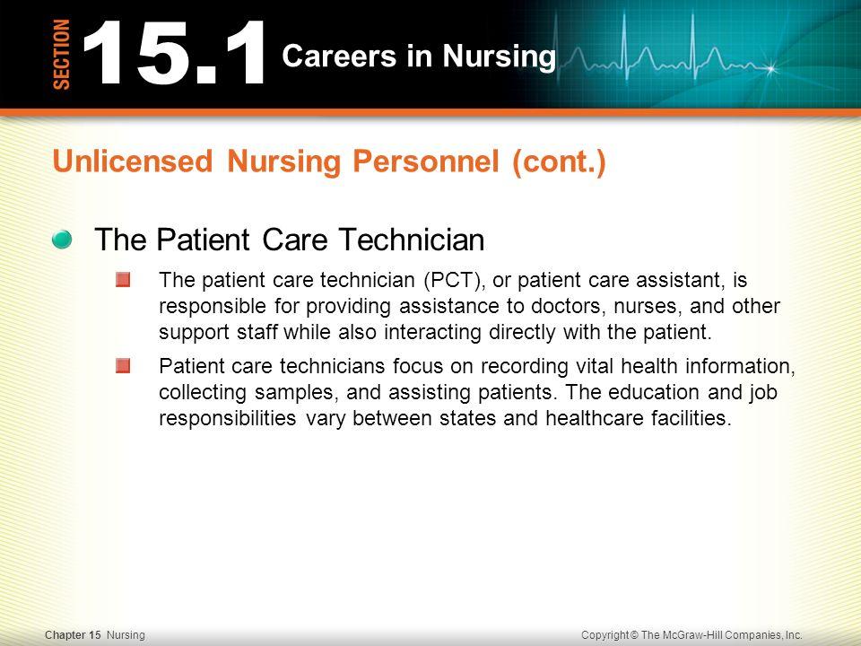 patient care technician job duties