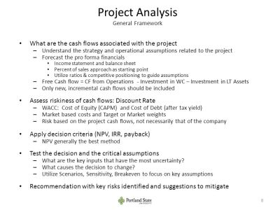Agenda Capital Budgeting Decision Frameworks. - ppt video ...